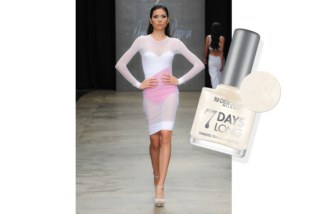 BEAUTY moda & nails in white Pajon Deborah milano