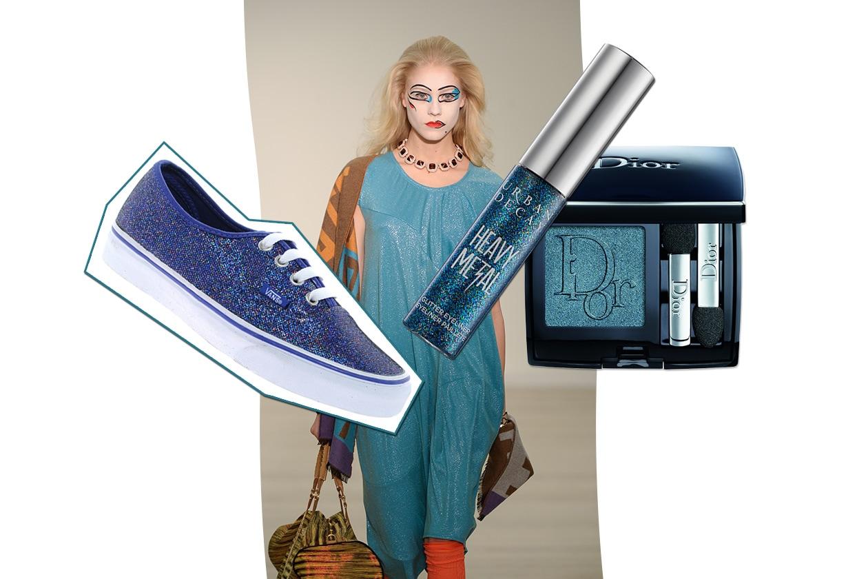 BRIGHTLY BLU: la parola d'ordine è denim (Vivienne Westwood Red Label – Vans Authentic  – Dior – Urban Decay)