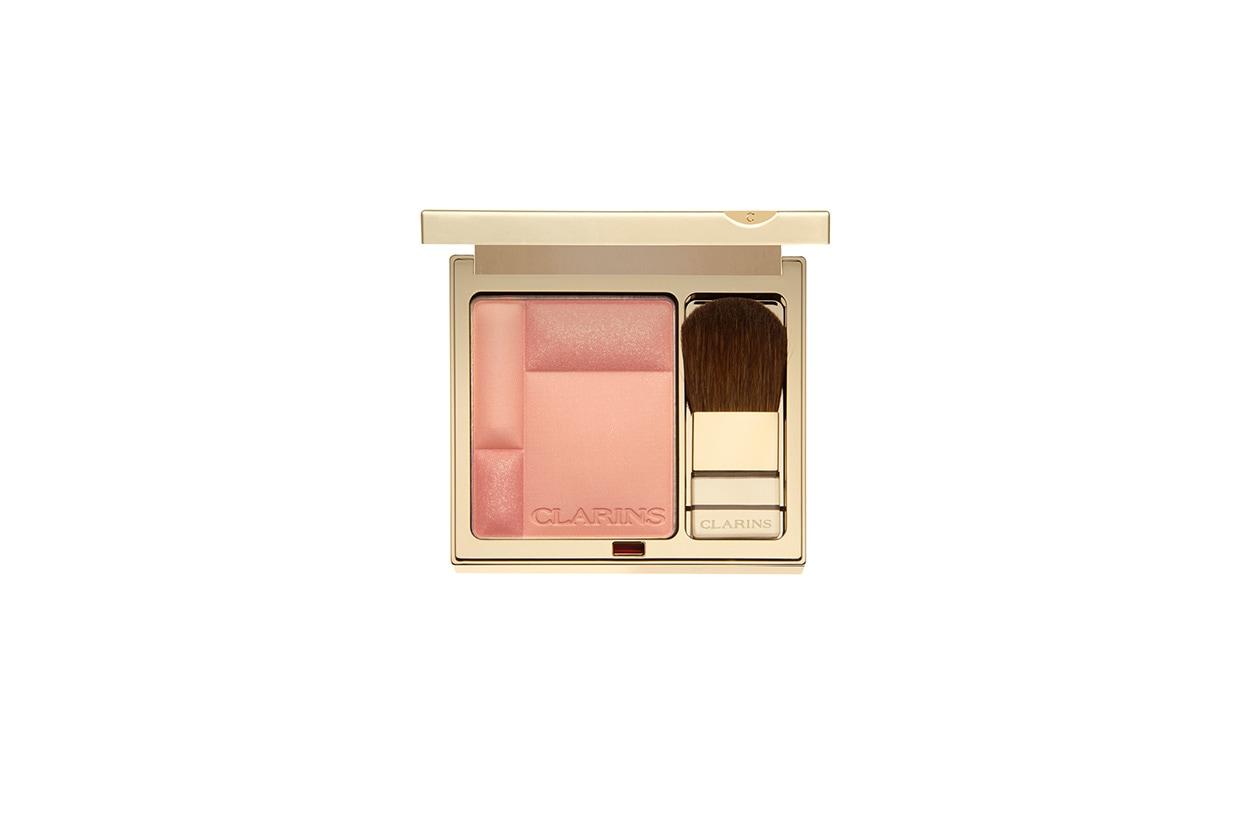 Beauty Malin Akerman Beauty Look clarins blush prodige tender peach