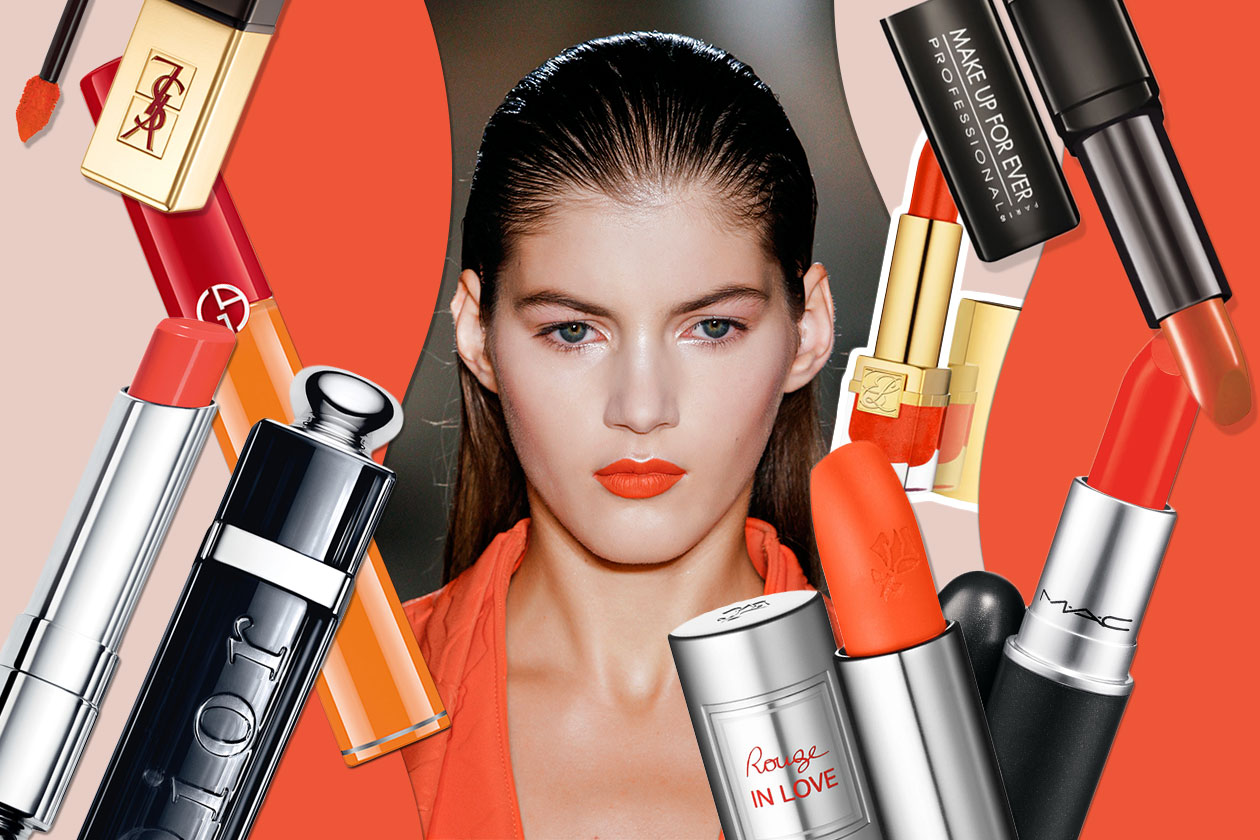 Beauty WE LOVE ORANGE LIPS Cover Collage