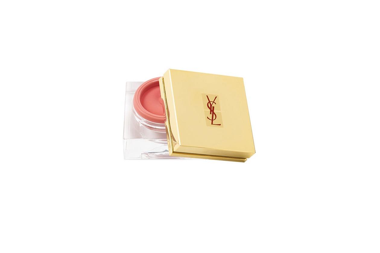 Beauty blush e prodotti labbra in rosa Yves Saint Laurent Viso Creme de Blush rose poudre