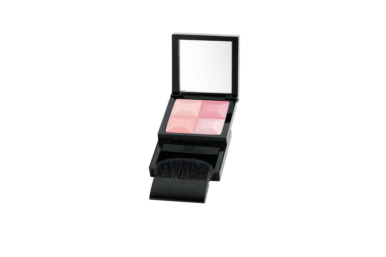 Beauty blush e prodotti labbra in rosa givenchy le prisme blush vintage pink