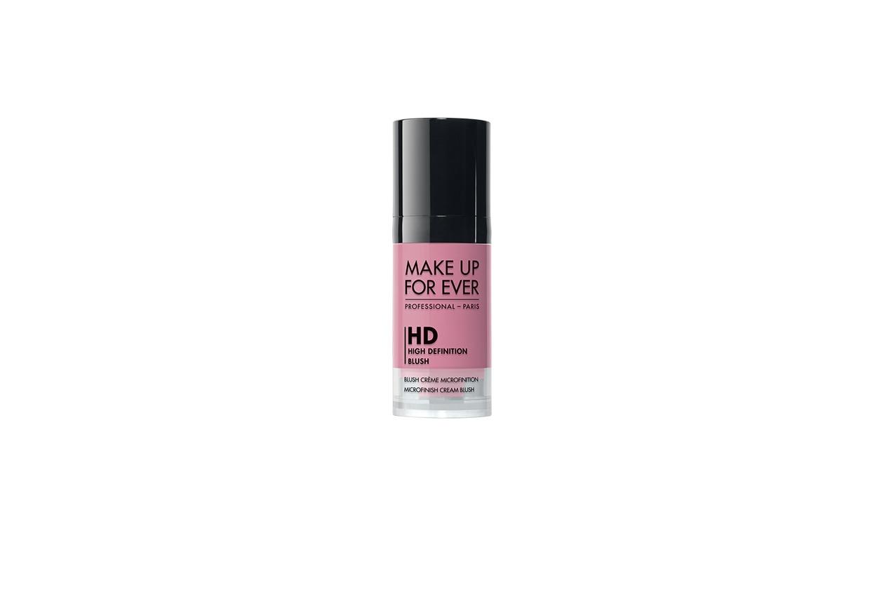 Beauty blush e prodotti labbra in rosa make up for ever hd blush fresh pink