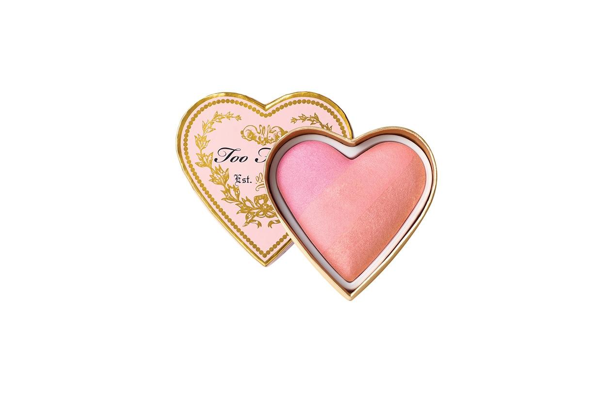 Beauty blush e prodotti labbra in rosa too faced Sweethearts blush