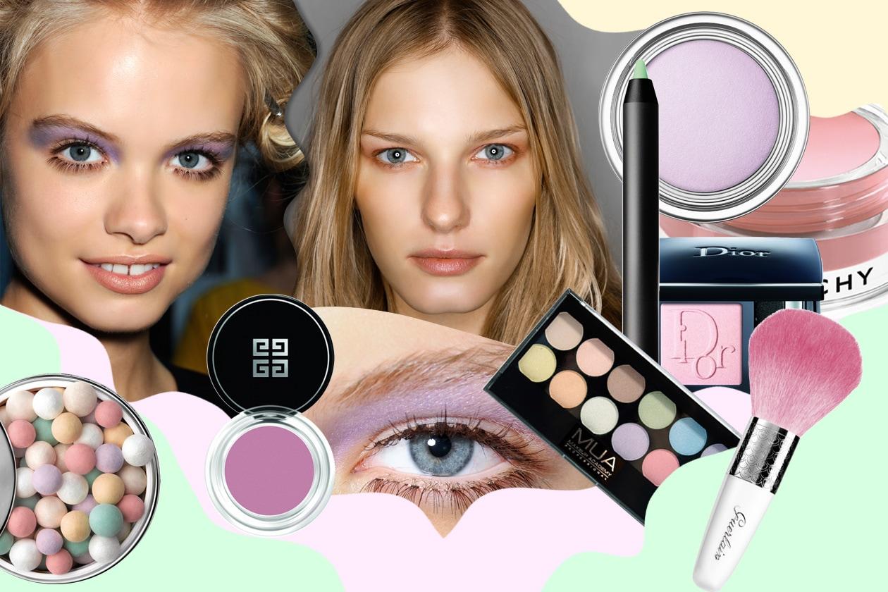 Make up pastello: occhi e labbra in delicate sfumature per la P/E 2014