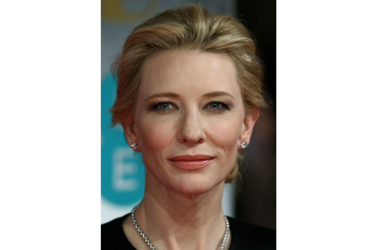 Cate Blanchett preferisce un trucco discreto