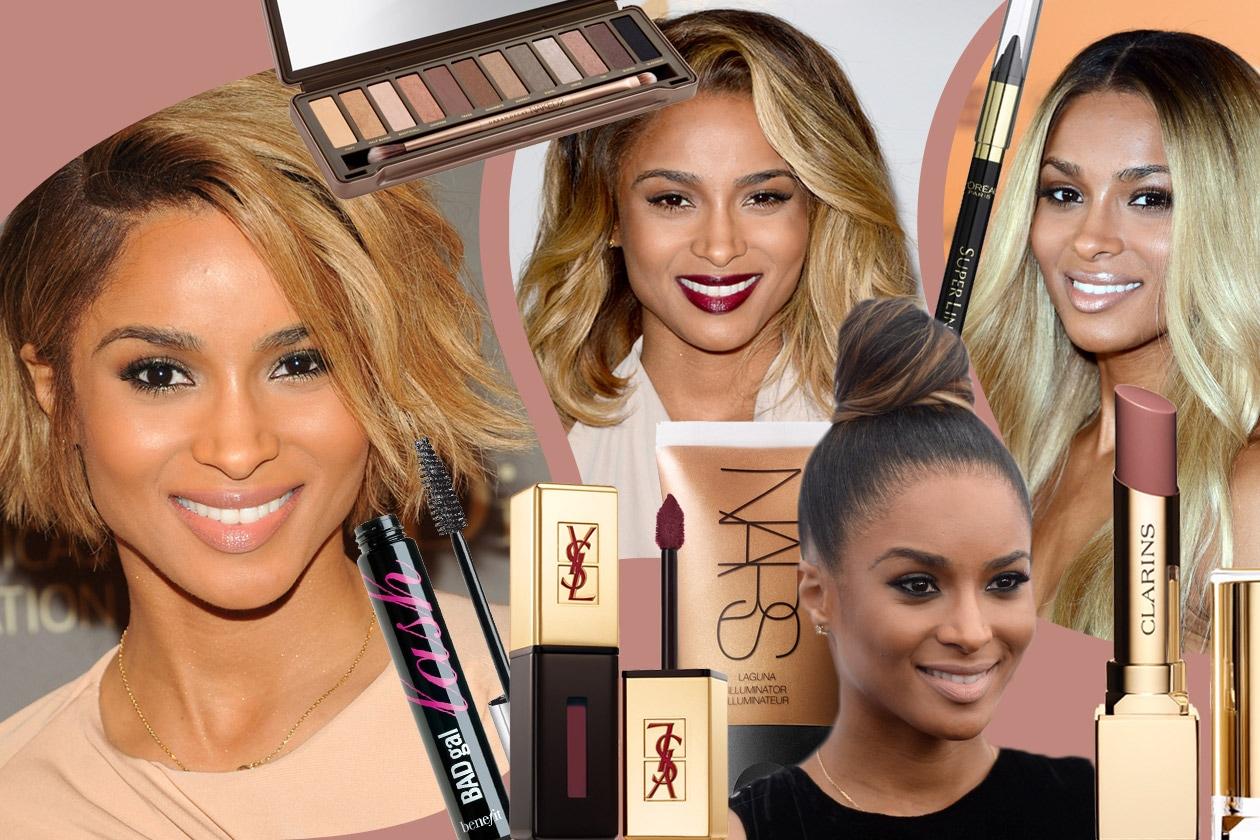 Cover Ciara beauty look
