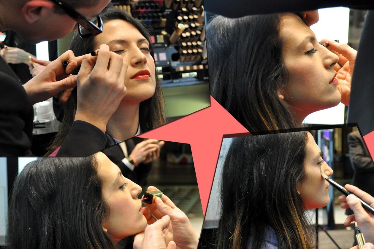 Eyeliner, illuminante Touche Èclat e Vernis à Levres: pochi minuti per far risplendere il viso con una nuova luminosità