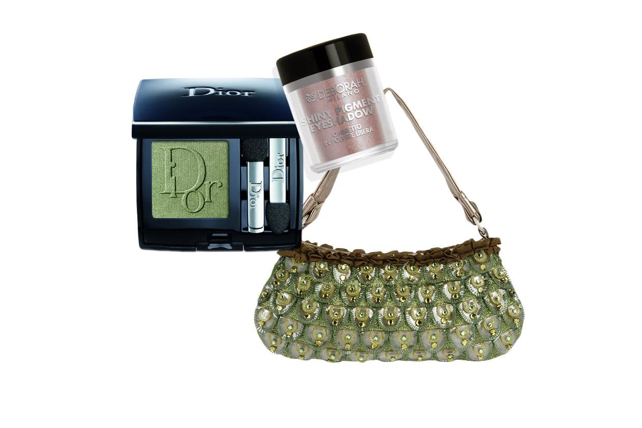 GREEN ATTITUDE: tra i colori della terra e del sottobosco per chi ama un finish vintage (Cavalli – Dior -Deborah Milano)