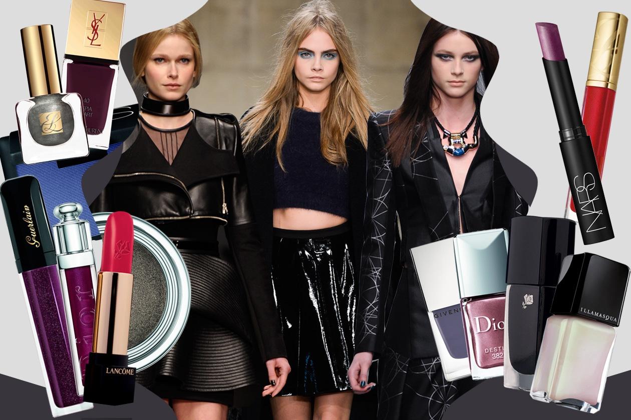 Il make up giusto se scegli un look nero: ombretti, rossetti e smalti per uno stile elegante e up to date. La selezione beauty&fashion di Grazia.IT