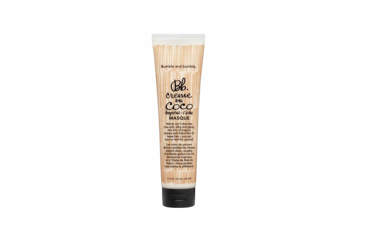 La Creme de Coco Masque Maschera ricostituente di Bumble & bumble è per capelli super setosi al tatto