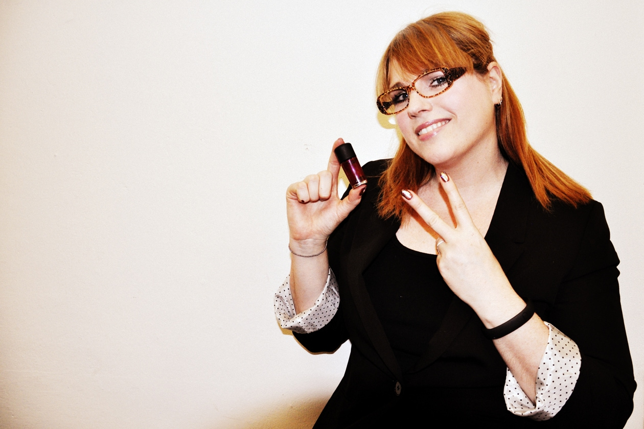 La nail artist Keri Blair