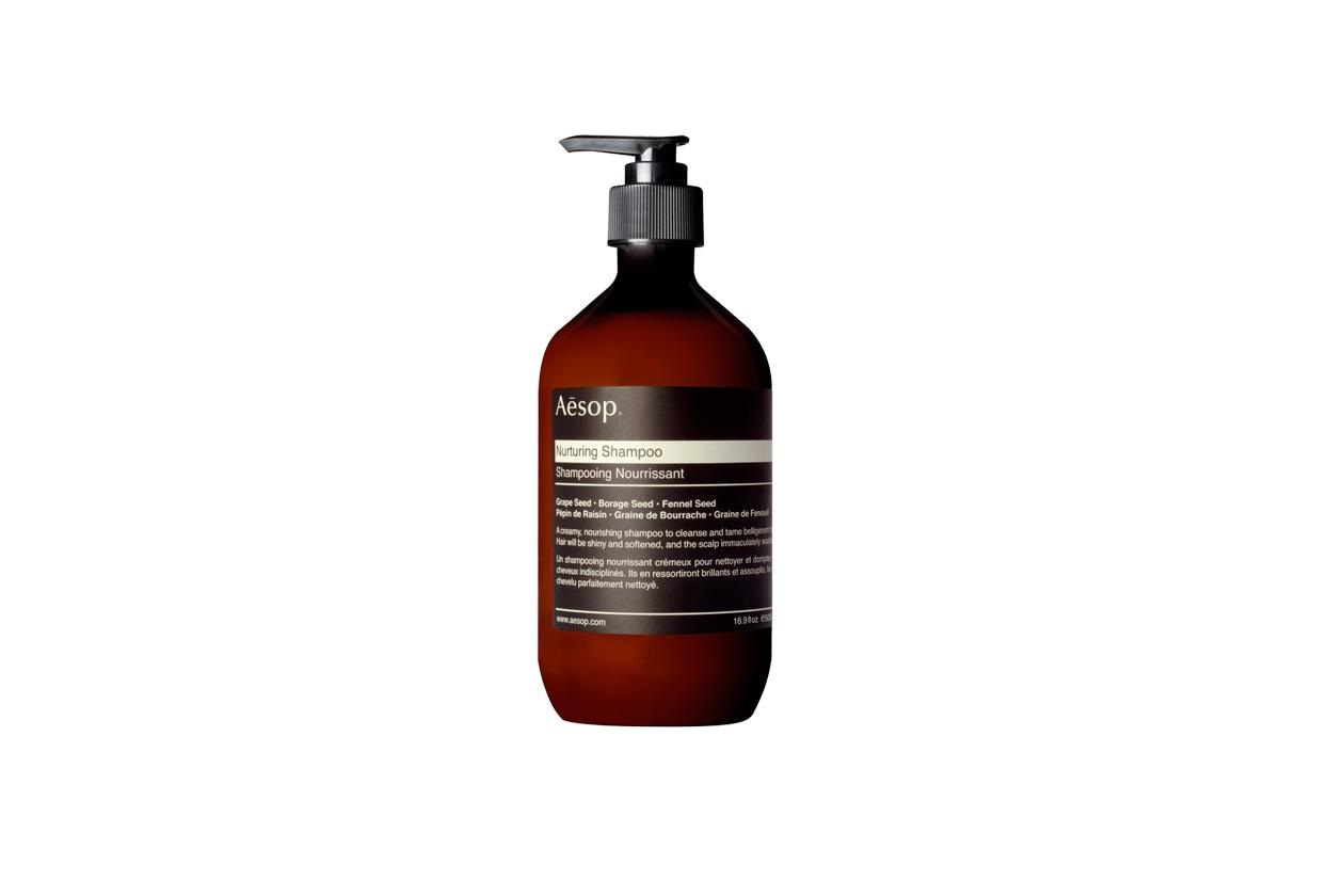 Nutrizione massima, infine, con il Nurturing Shampoo di Aesop