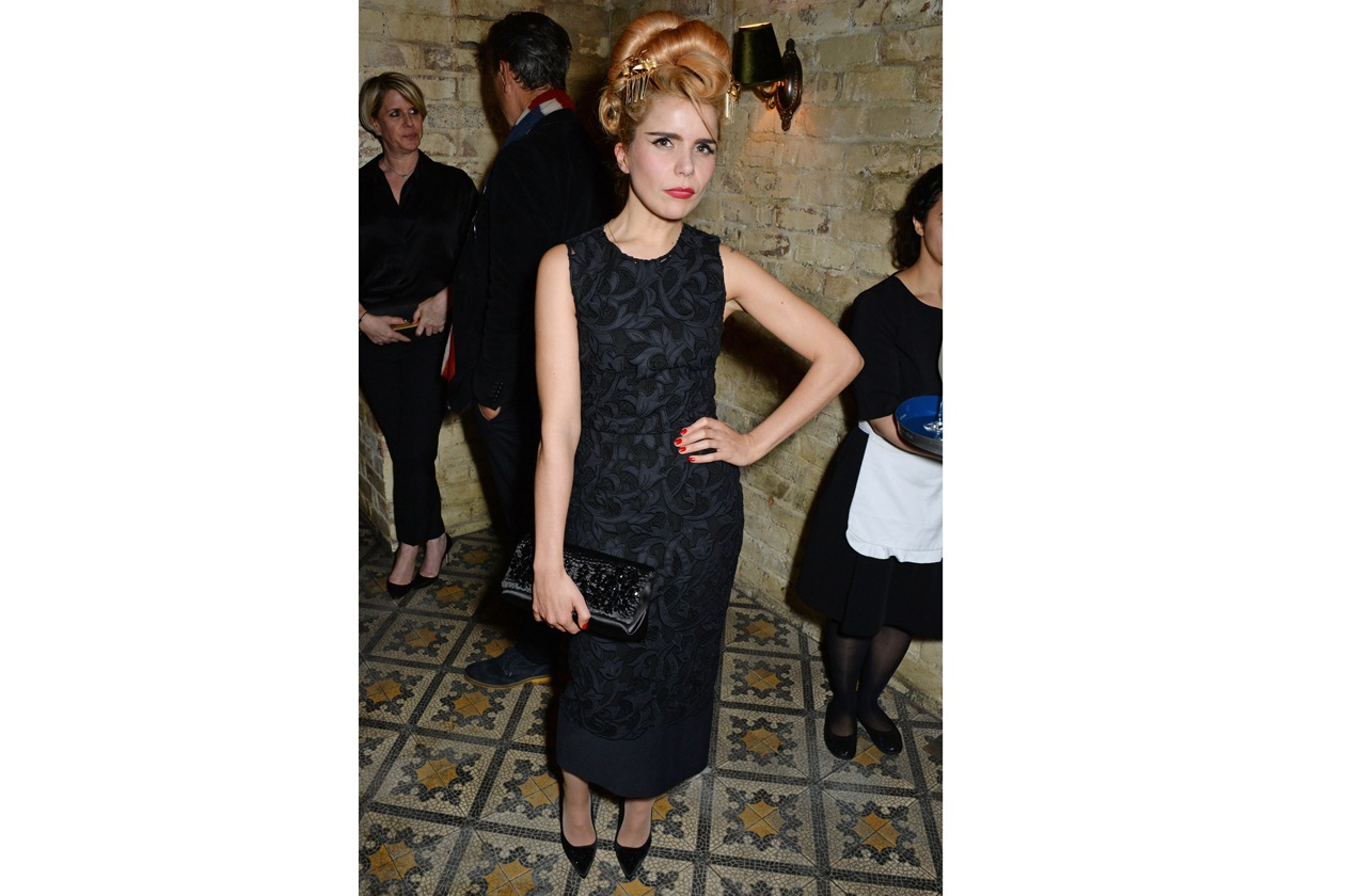 Paloma Faith at Harvey Weinstein's BAFTA nominees dinner in partnership with Burberry & Grey Goose at Little House, Mayfair
