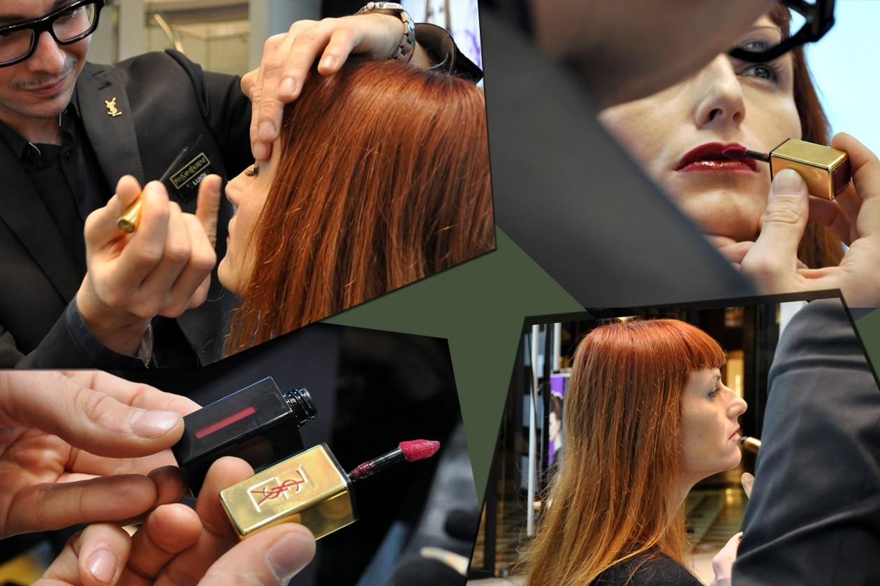 Step by Step: il make up per Sara Moschini, senior fashion editor di Grazia.IT, realizzato dai make up artist YSL