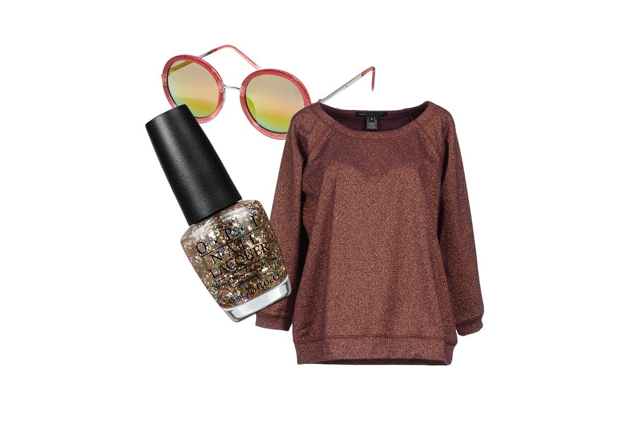 TERRA ROSSA: il glitter da vera street stylist (Jeepers Peepers – Marc by Marc Jacobs – OPI)