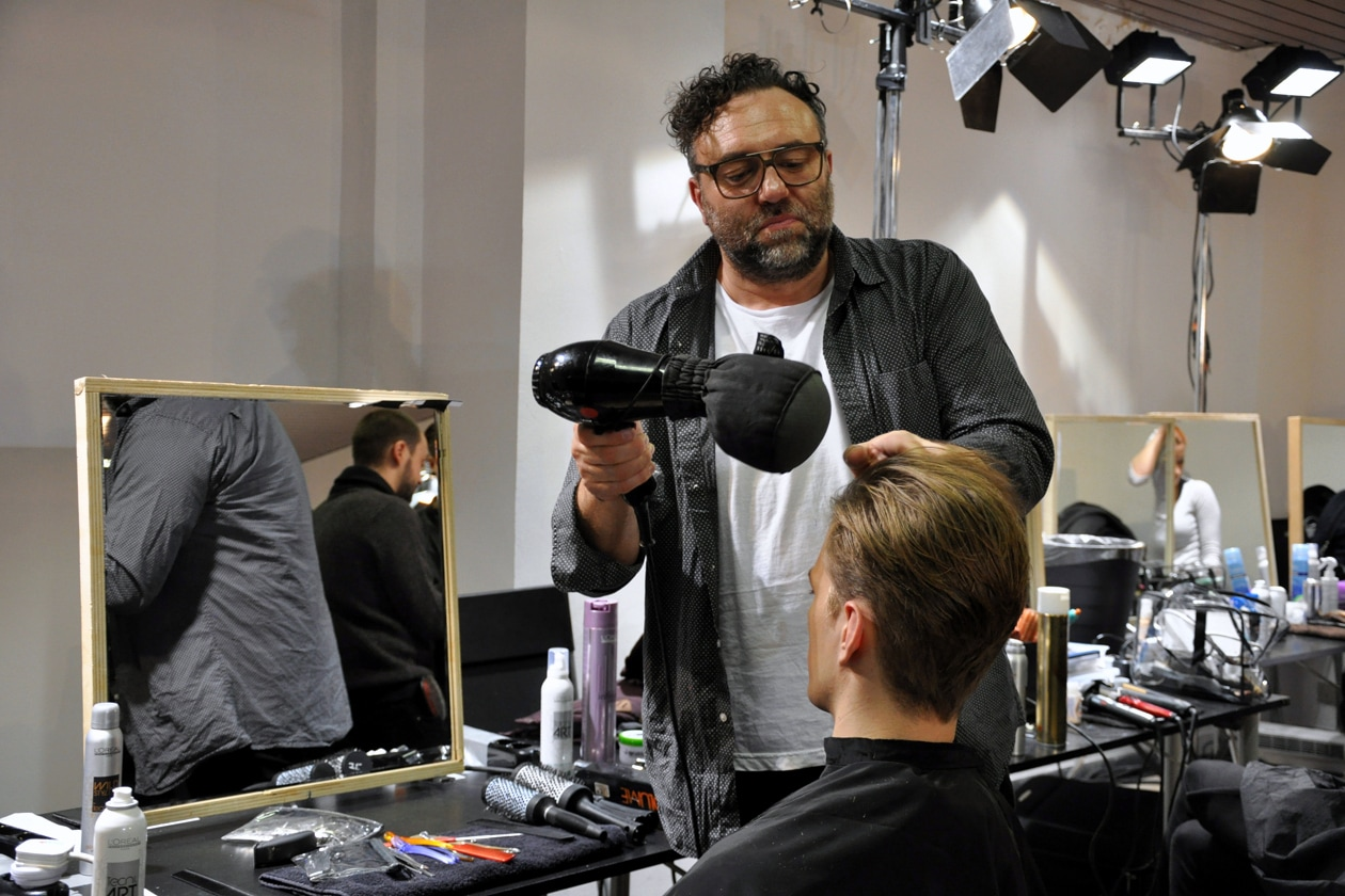 Unconventional ma pulito l'hair styling by Neil Moodie per L'Oréal Professionel