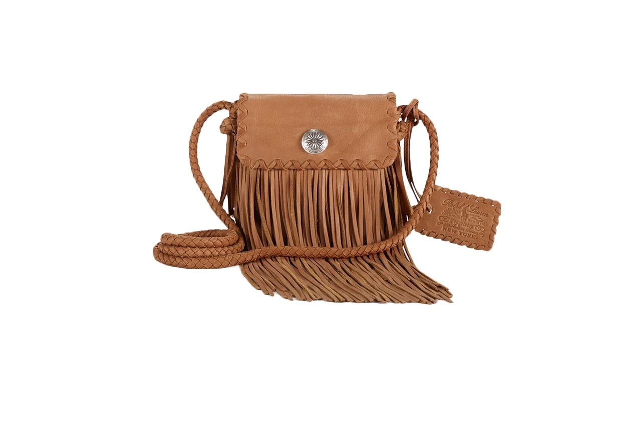 Fashion Fringes are back ralph lauren bag