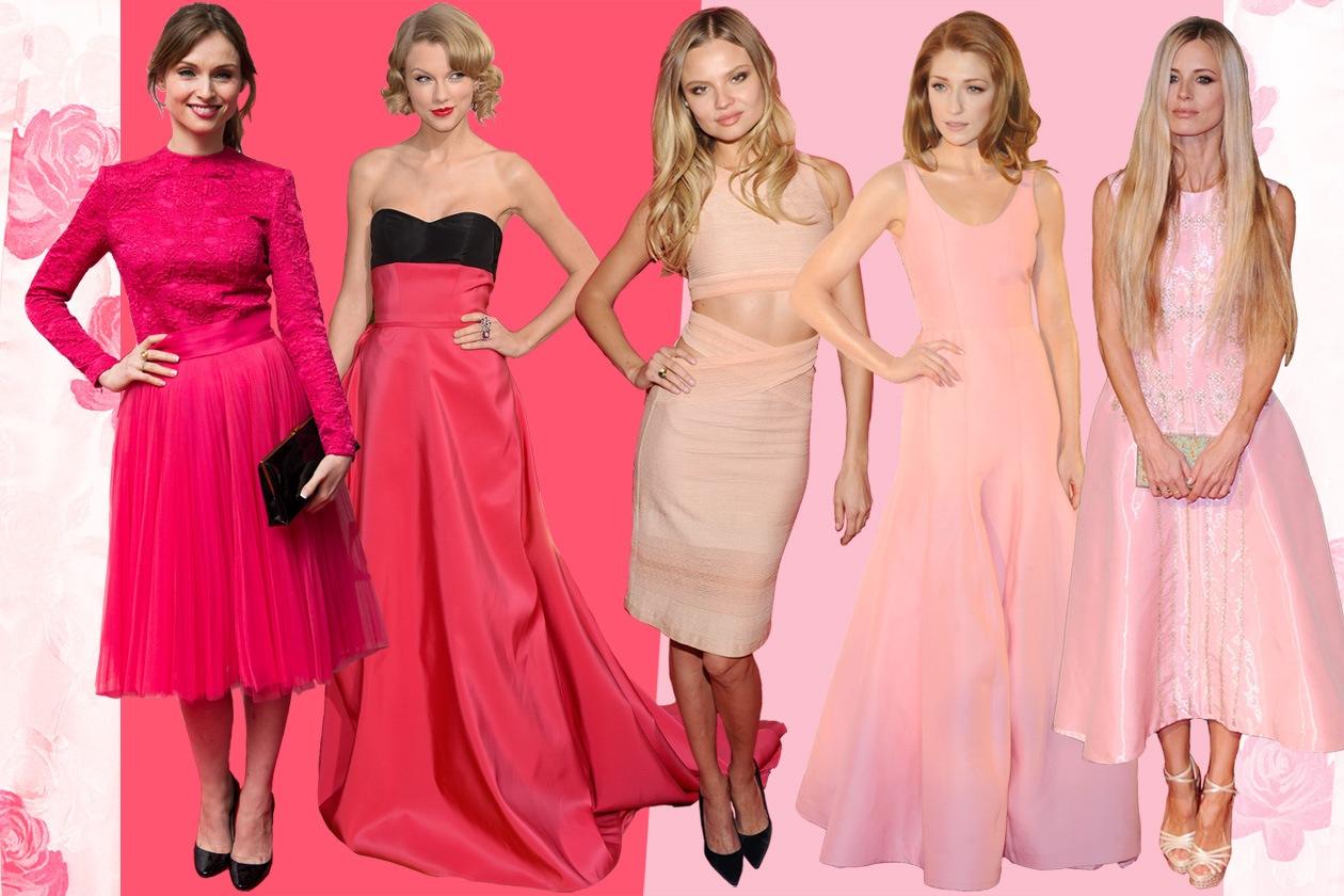 Le celeb preferiscono il rosa o il fucsia?