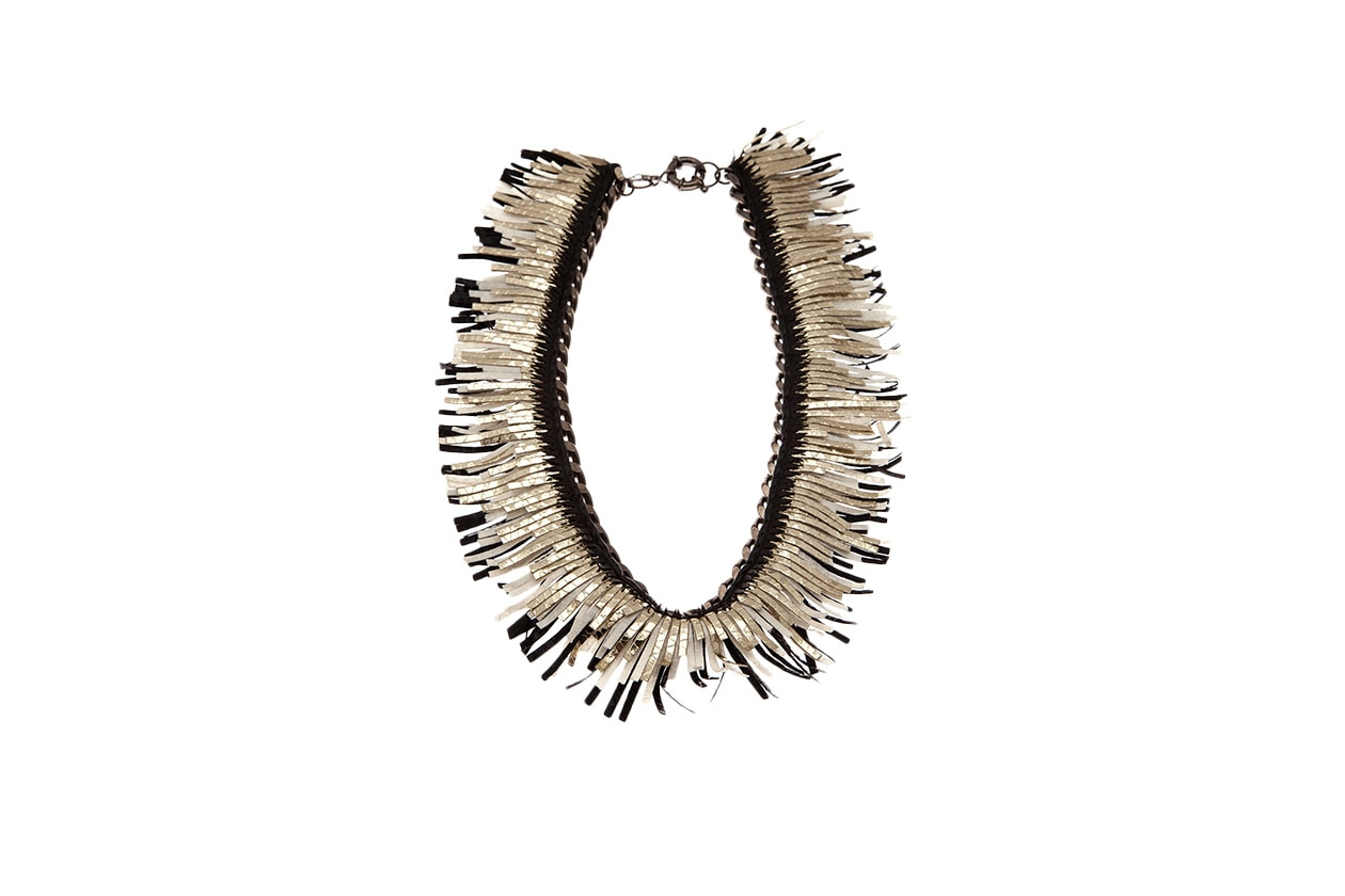 Fashion Fringes are back ann michelson collana