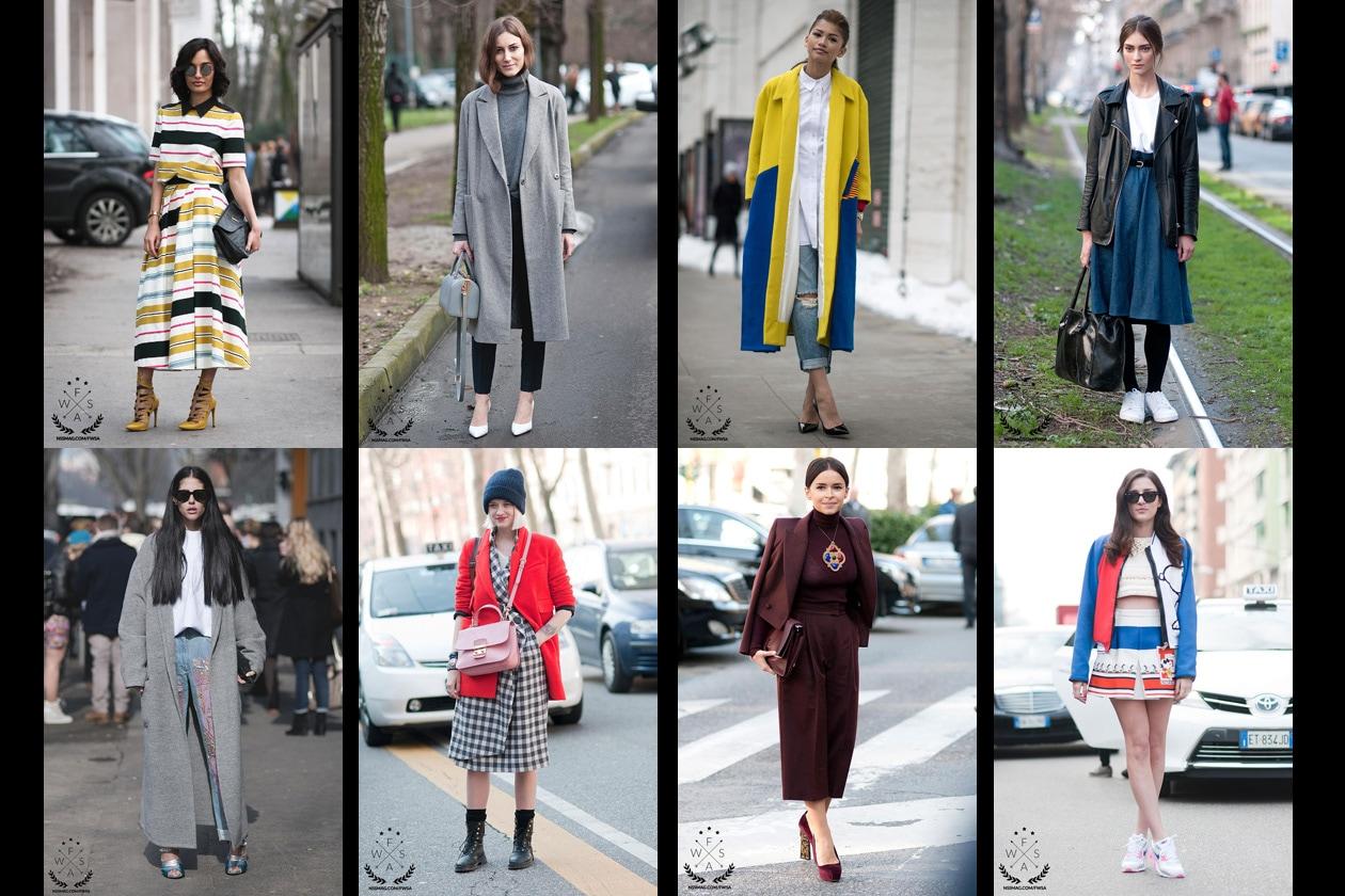 I look semifinalisti per i Fashion Week Street Style Awards
