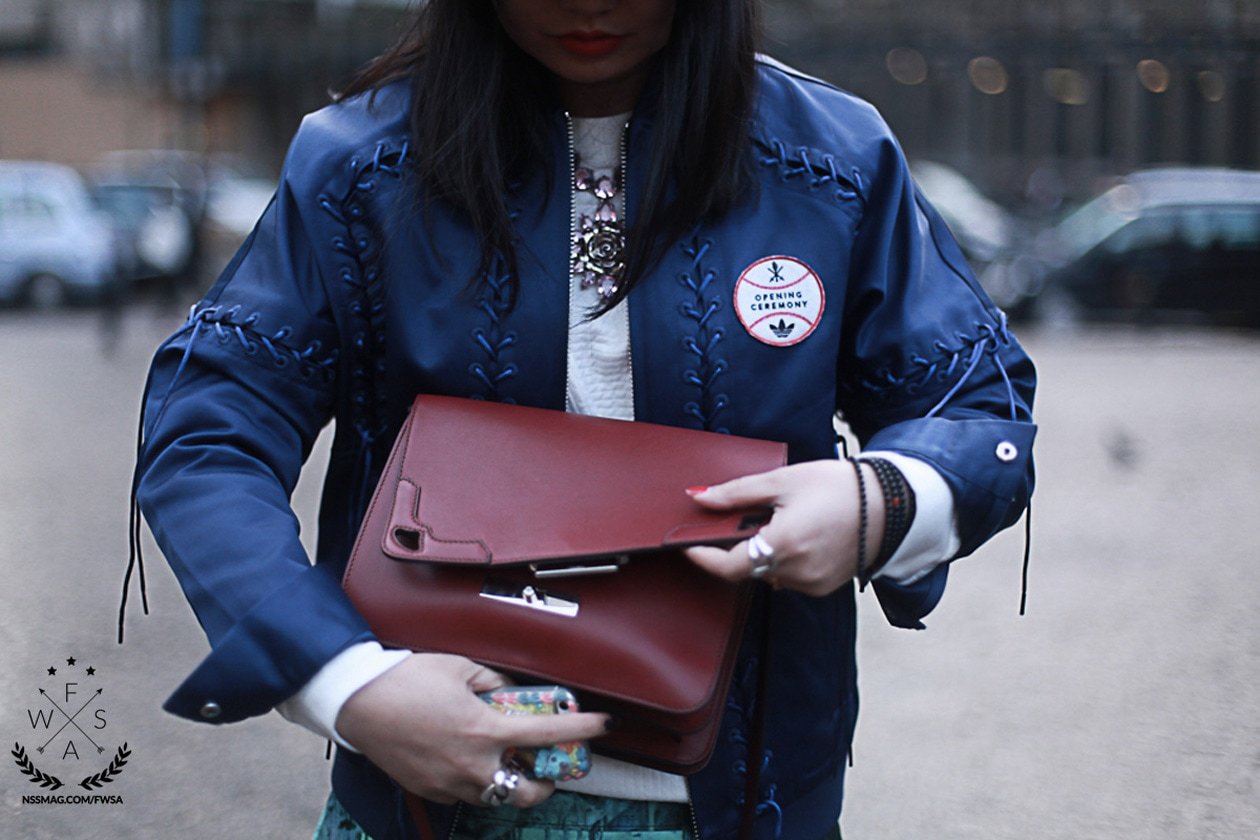 london detail basball jacket