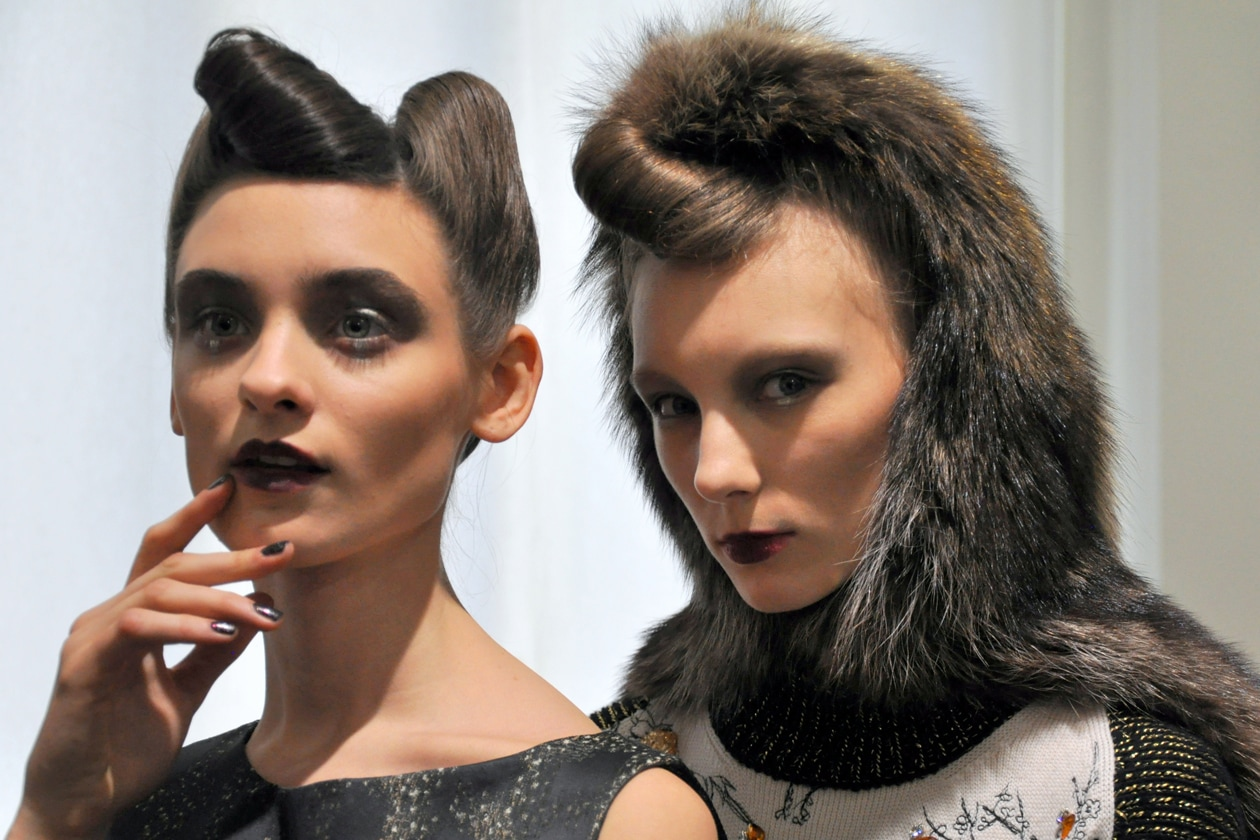 Antonio Marras autunno/inverno 2014-15: il backstage beauty & hair