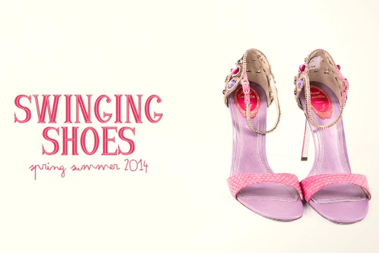 Scarpe: il videotrend con le scarpe della p/e 2014
