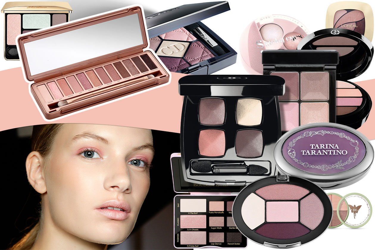 Palette trucco rosa: dalla Naked 3 a Chanel le trousse must have in pink!