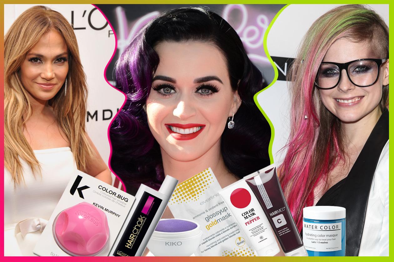 Capelli colorati: hair chalk, shampoo colorante, maschere e riflessanti per cambiare look