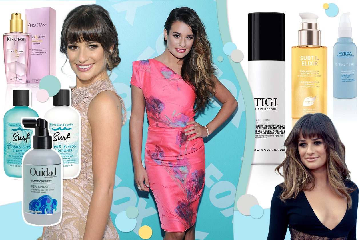 BEAUTY Lea Michele Capelli 00 Cover collage