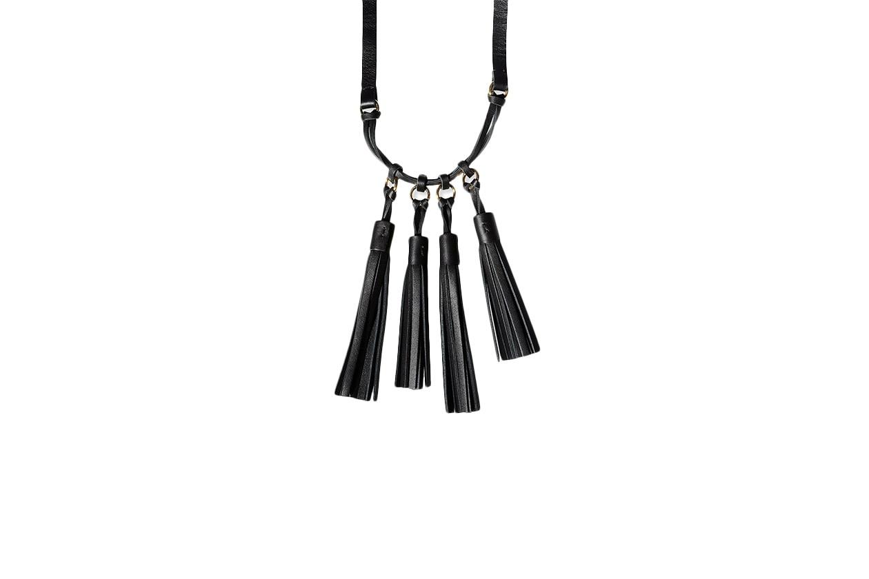 Fashion Fringes are back marni necklace