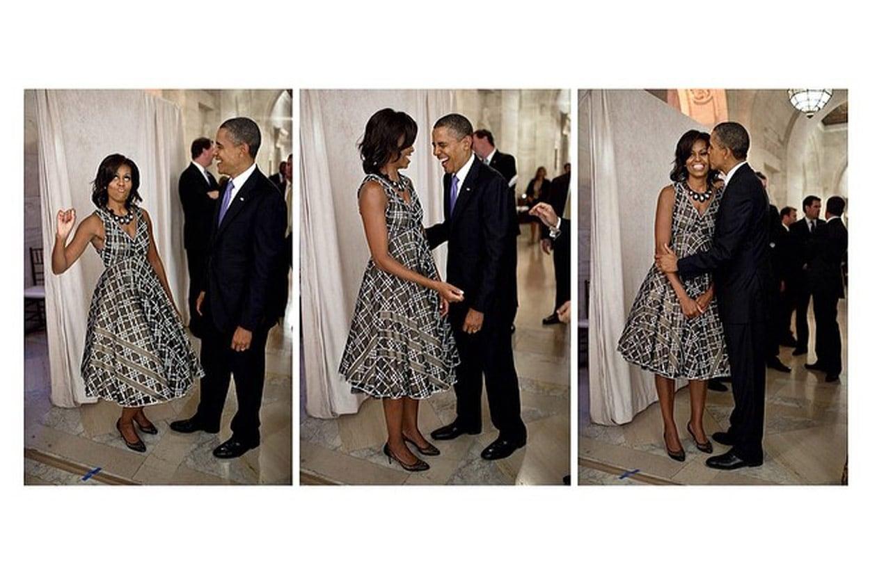 Michelle Obama: «Hey Barack, I'll always be your valentine! (Ehy Barack, sarò per sempre la tua Valentina!)»