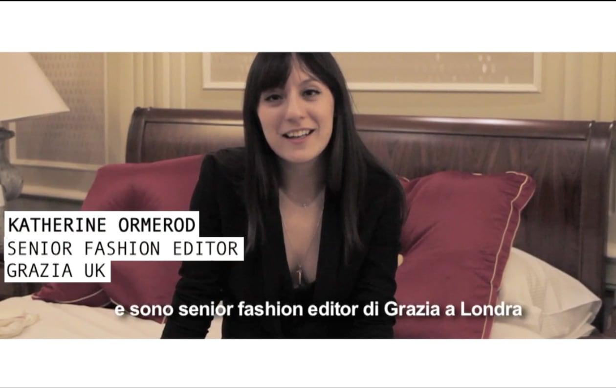 Milano Fashion Week: una giornata con Katherine Ormerod