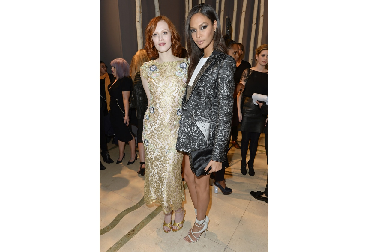 Karen Elson, Joan Smalls