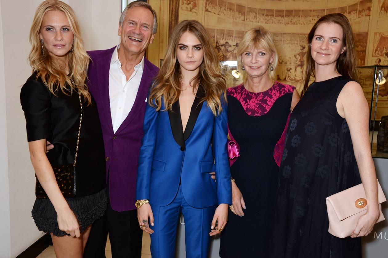Poppy, Charles, Cara, Pandora and Chloe Delevingne