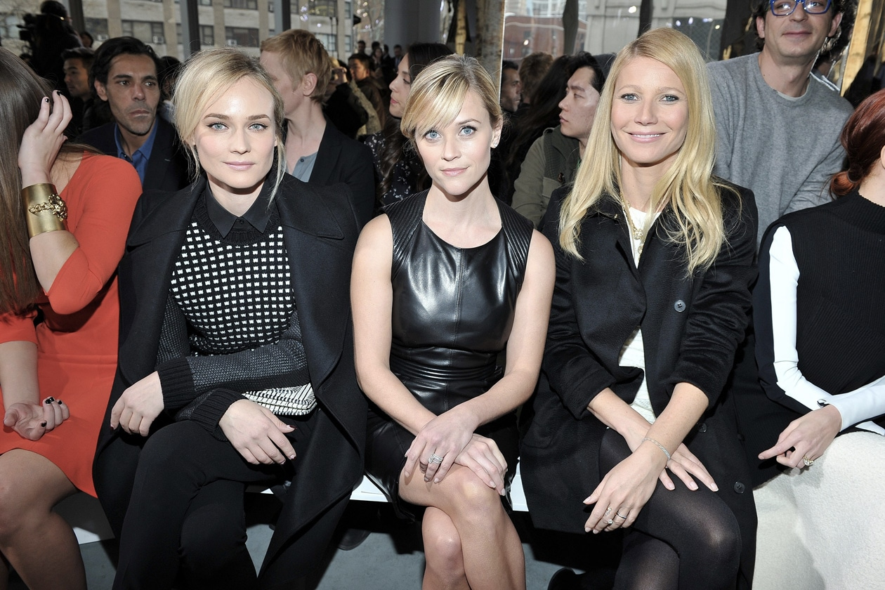 BOSS Fashion Show FW14 Diane Kruger, Reese Witherspoon and Gwyneth Paltrow