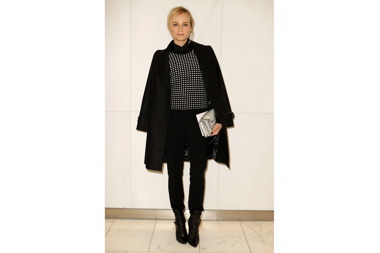 BOSS Fashion Show FW14 Diane Kruger 1