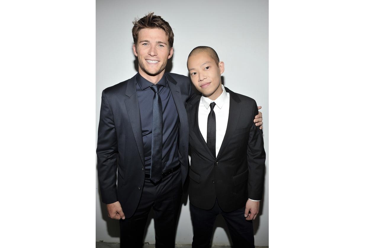BOSS Fashion Show FW14 Scott Eastwood and Jason Wu 1