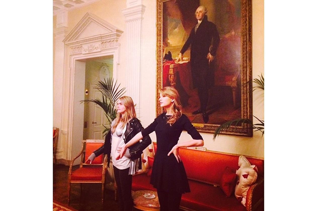 Taylor Swift: «Just trying to be like George Washington (Cercando di assomigliare a George Washington»