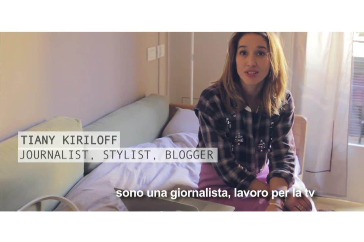 Milano Fashion Week: una giornata con Tiany Kiriloff