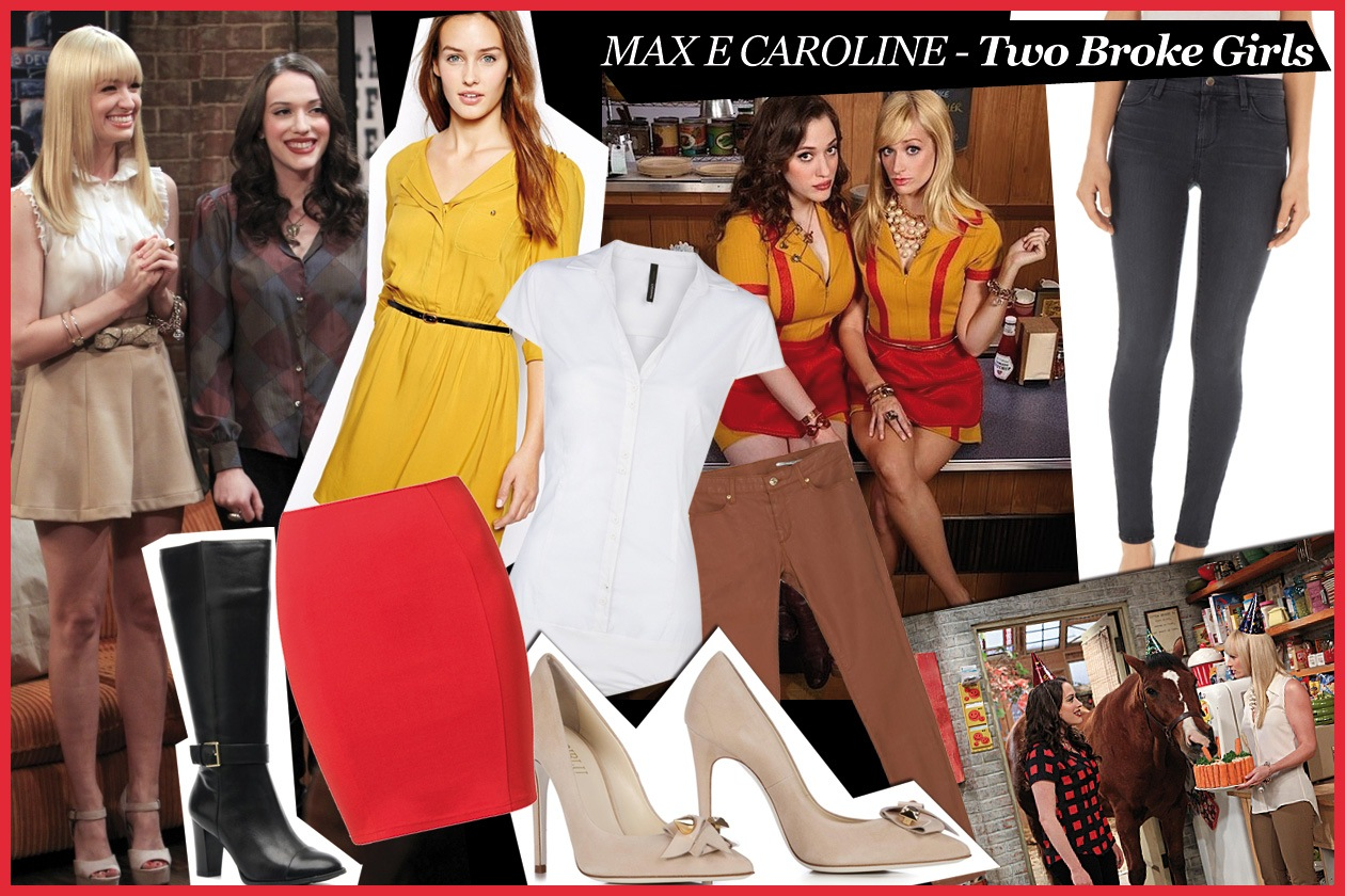 06 Max e Caroline Two Broke Girls