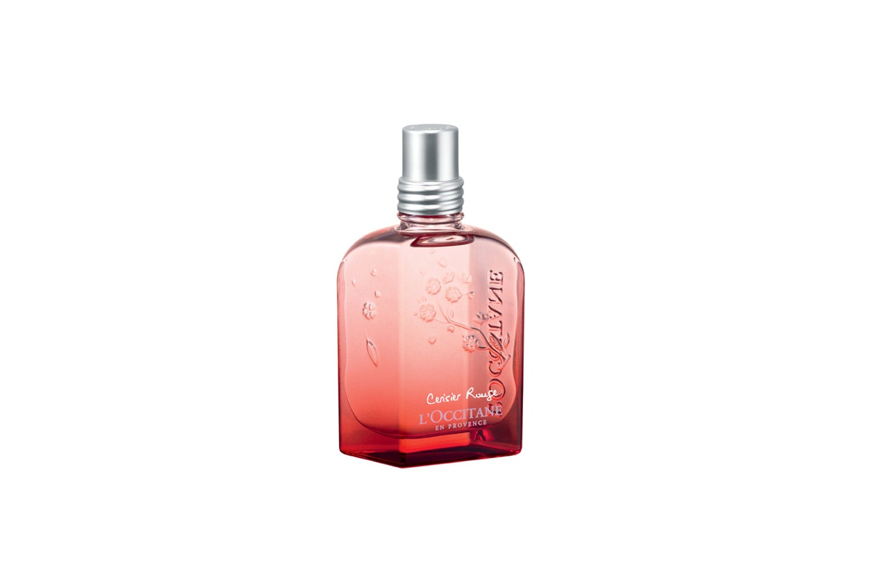 09 L'Occitane Cerisier Rouge Eau Intense
