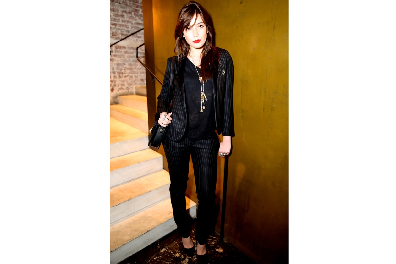 A3 Daisy Lowe in Saint Laurent