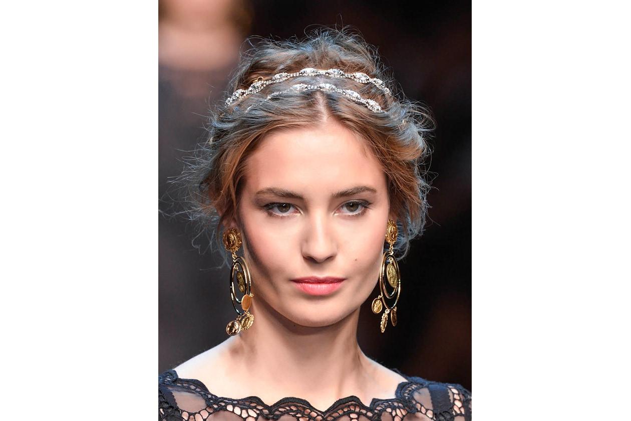 BEAUTY Capelli ispirazione boho Dolce Gabbana bty W S14 M 024