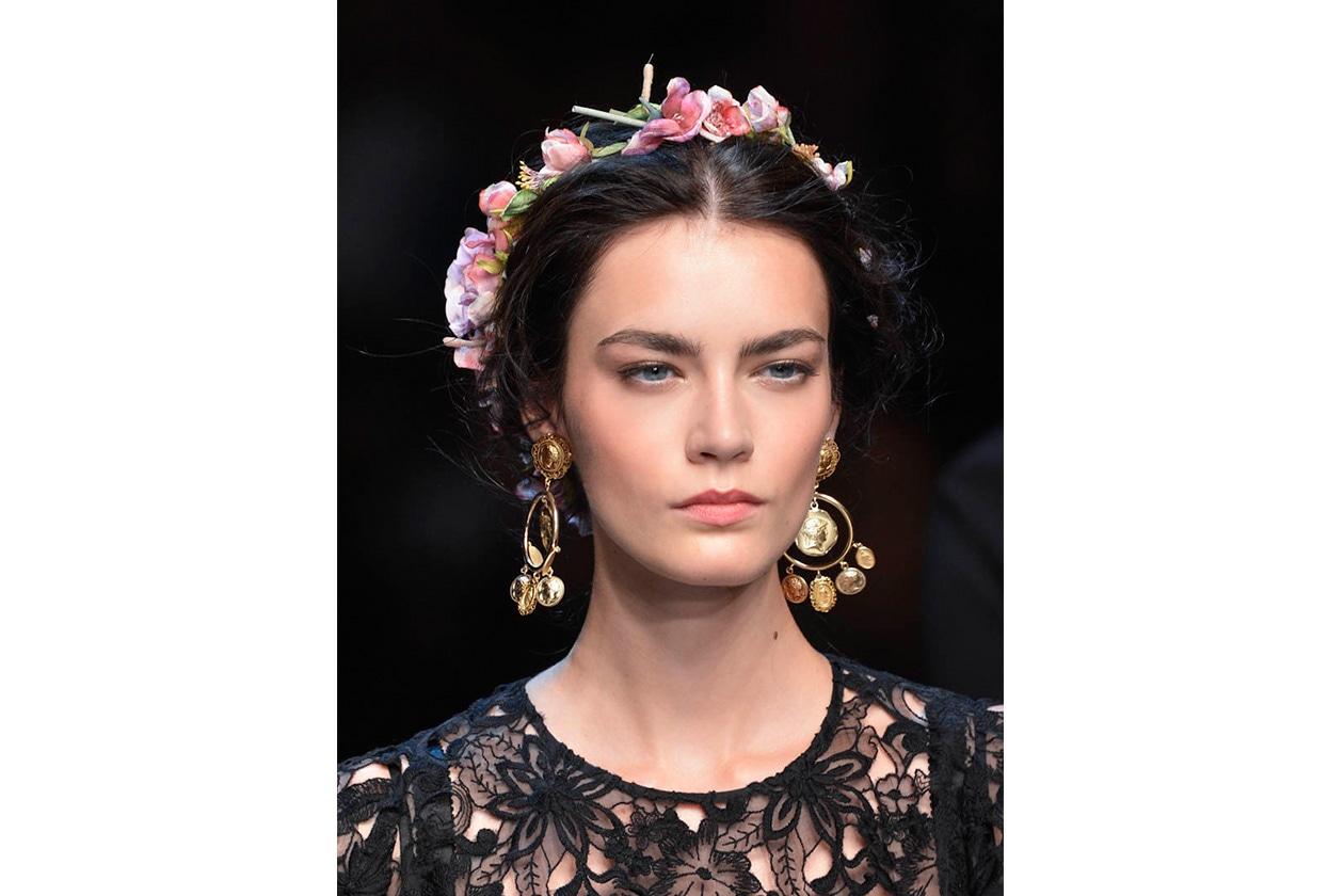 BEAUTY Capelli ispirazione boho Dolce Gabbana bty W S14 M 029