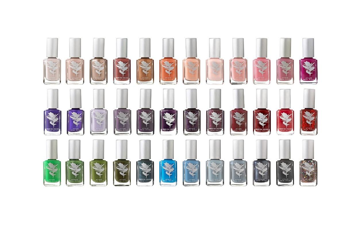 Beauty Smalti Ecofriendly Priti+NYC Color+Range