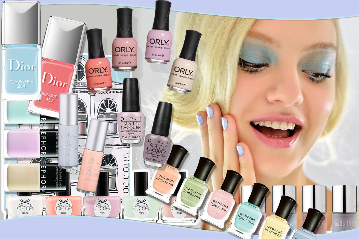 Beauty Smalti Pastello 00 Cover collage