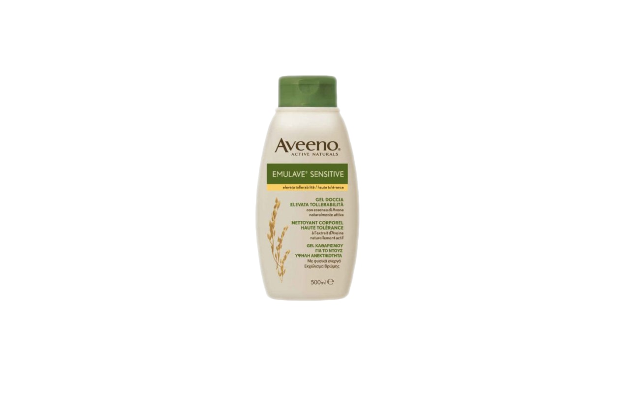 Beauty cura corpo pelle sensibile aveeno emulave sensitive gel doccia