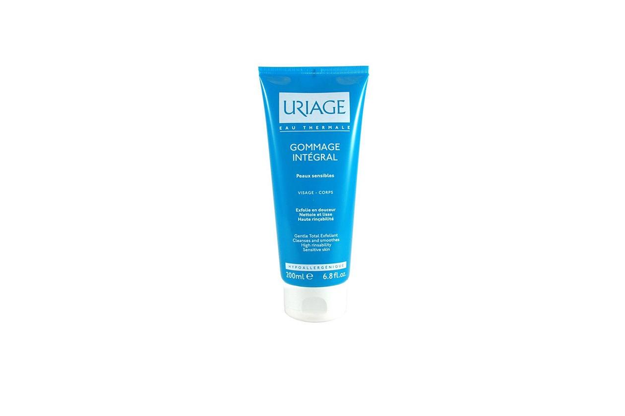 Beauty cura corpo pelle sensibile uriage gommage integral